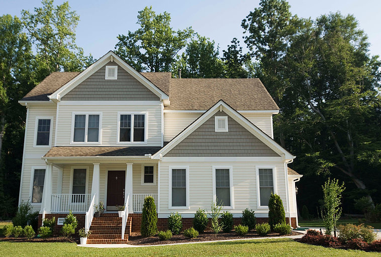 Picture of the front of a house